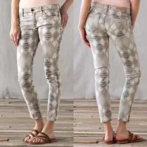Sanctuary Denim Mohave Charmer Geo Pattern Jeans